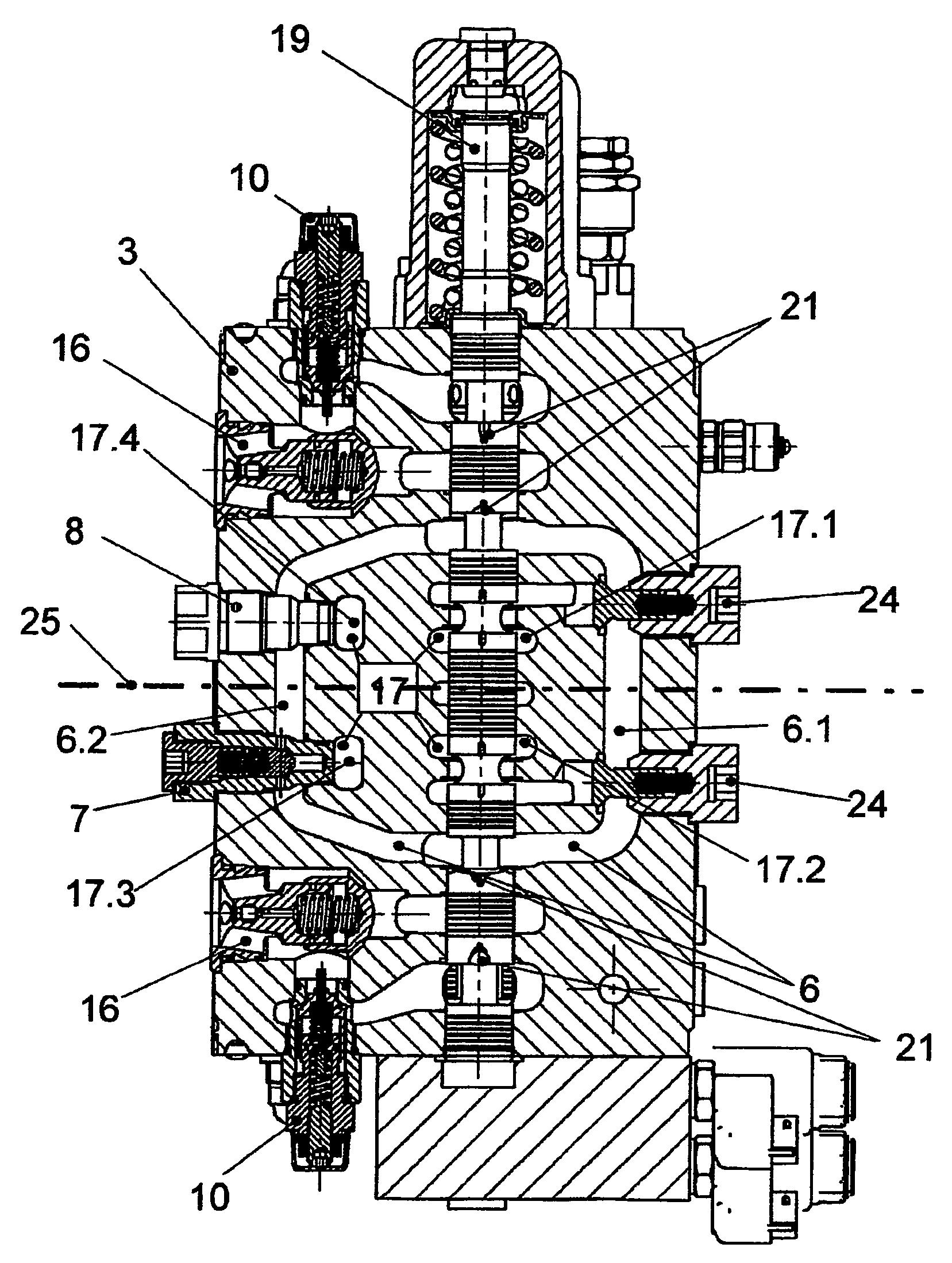 hydraulic control ledningsdiagram