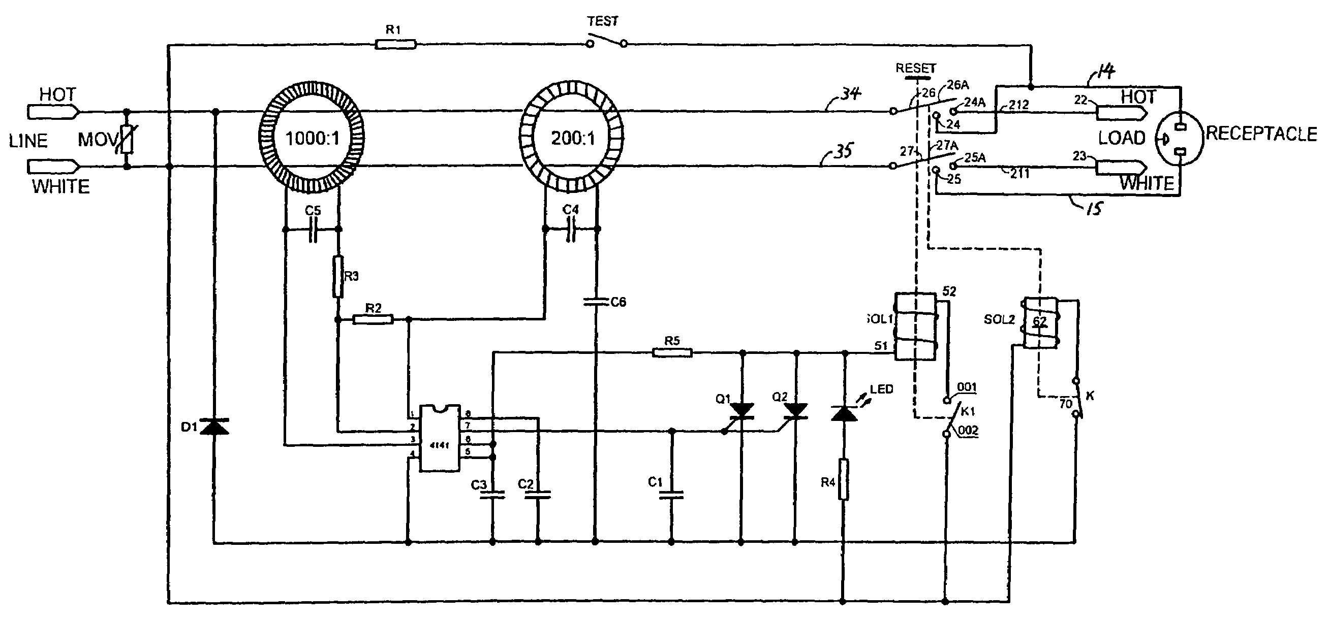 circuit interrupter device google patents on wiring a leviton gfci