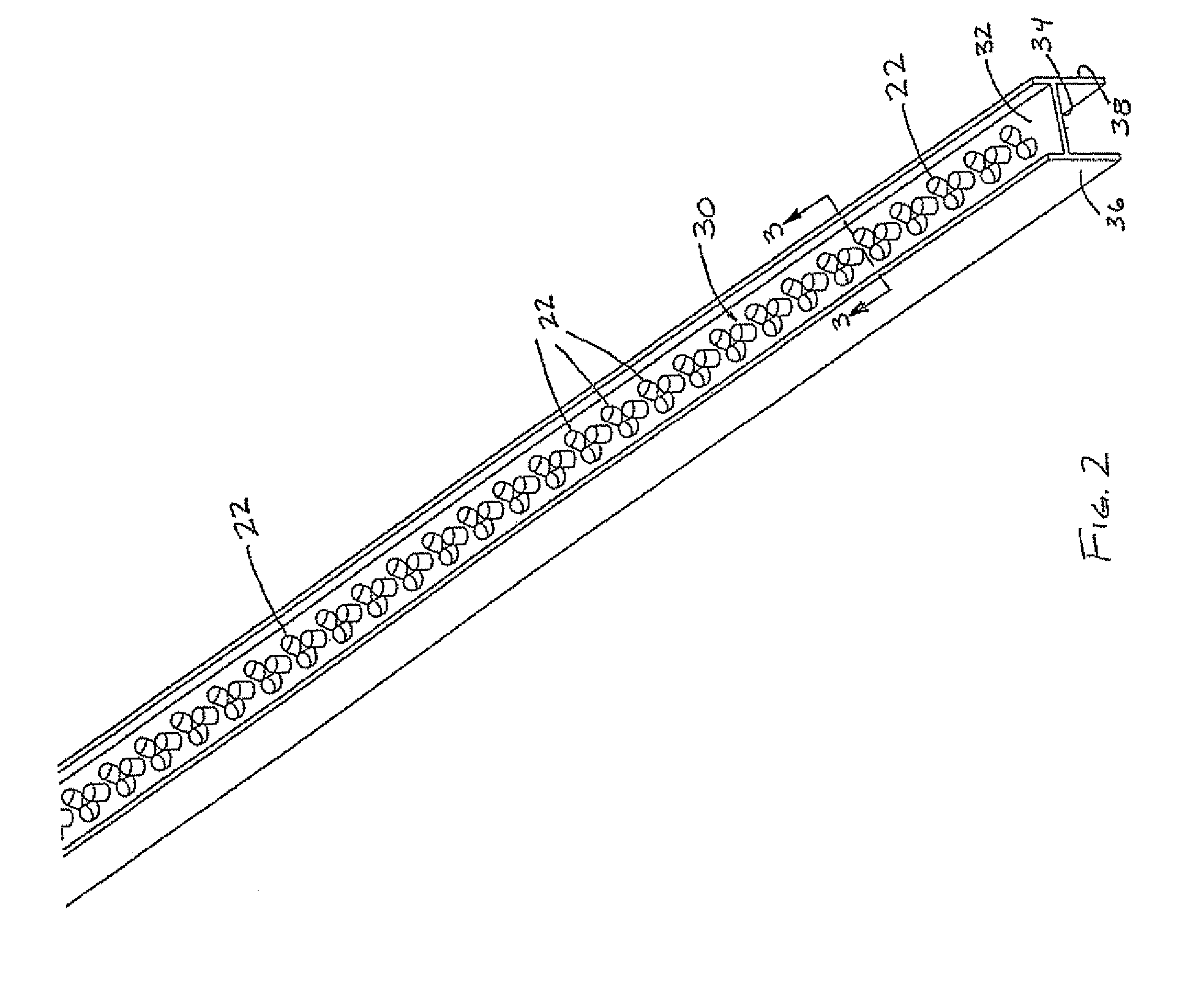 Fluorescent Tube Drawing Patent Us7510299 Led Lighting Device For Replacing