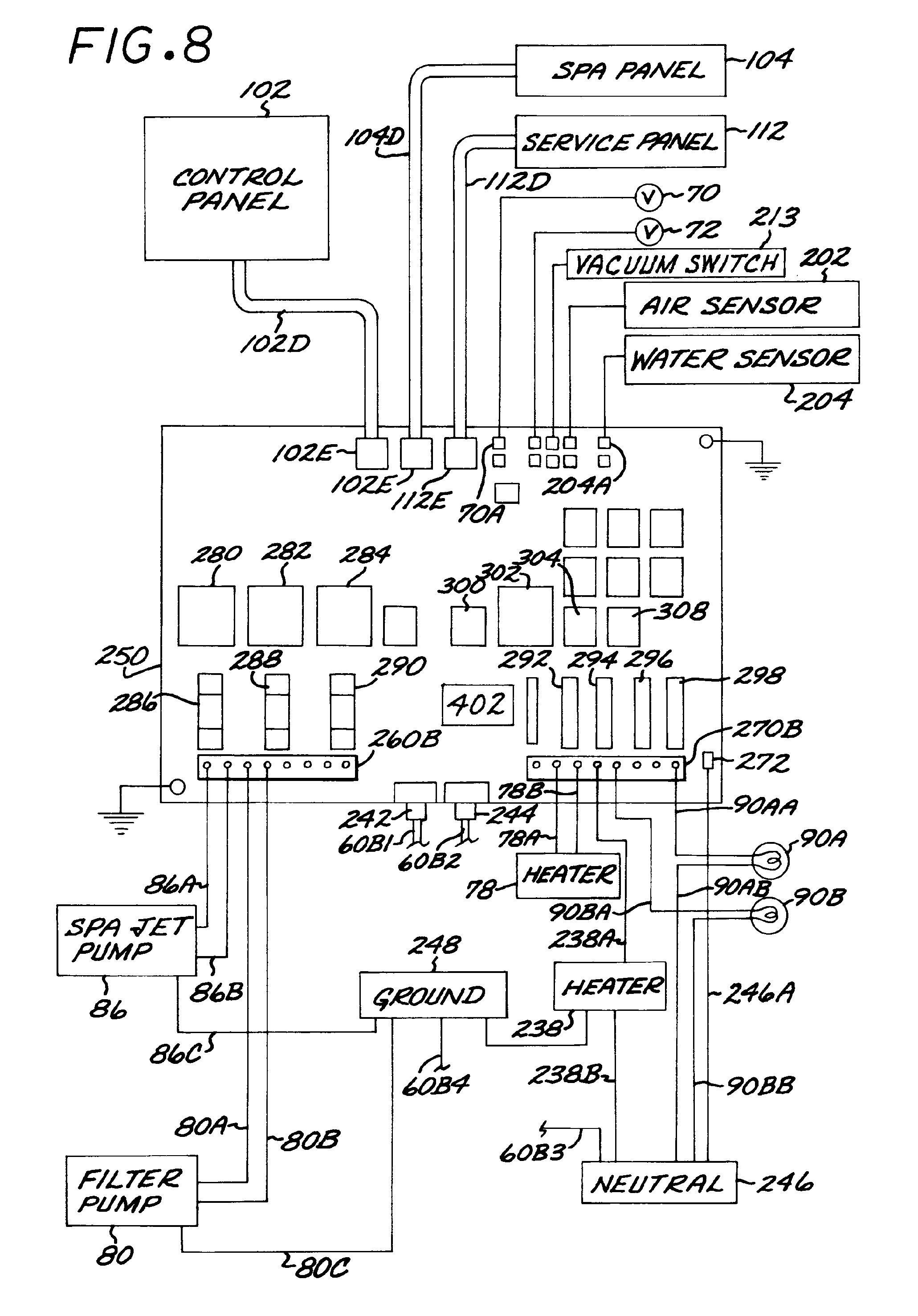 spa timer wiring diagram