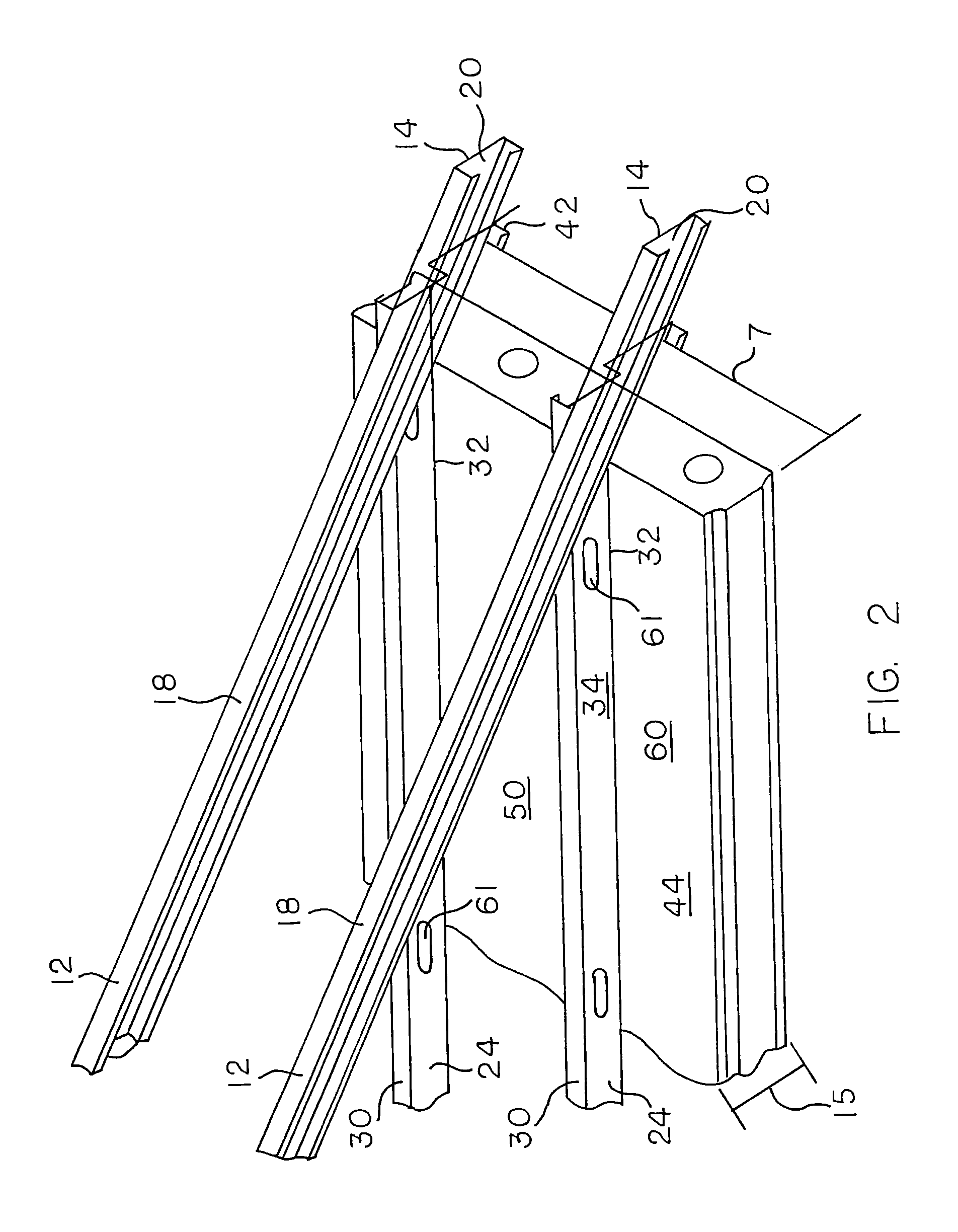 body diagram of roof truss