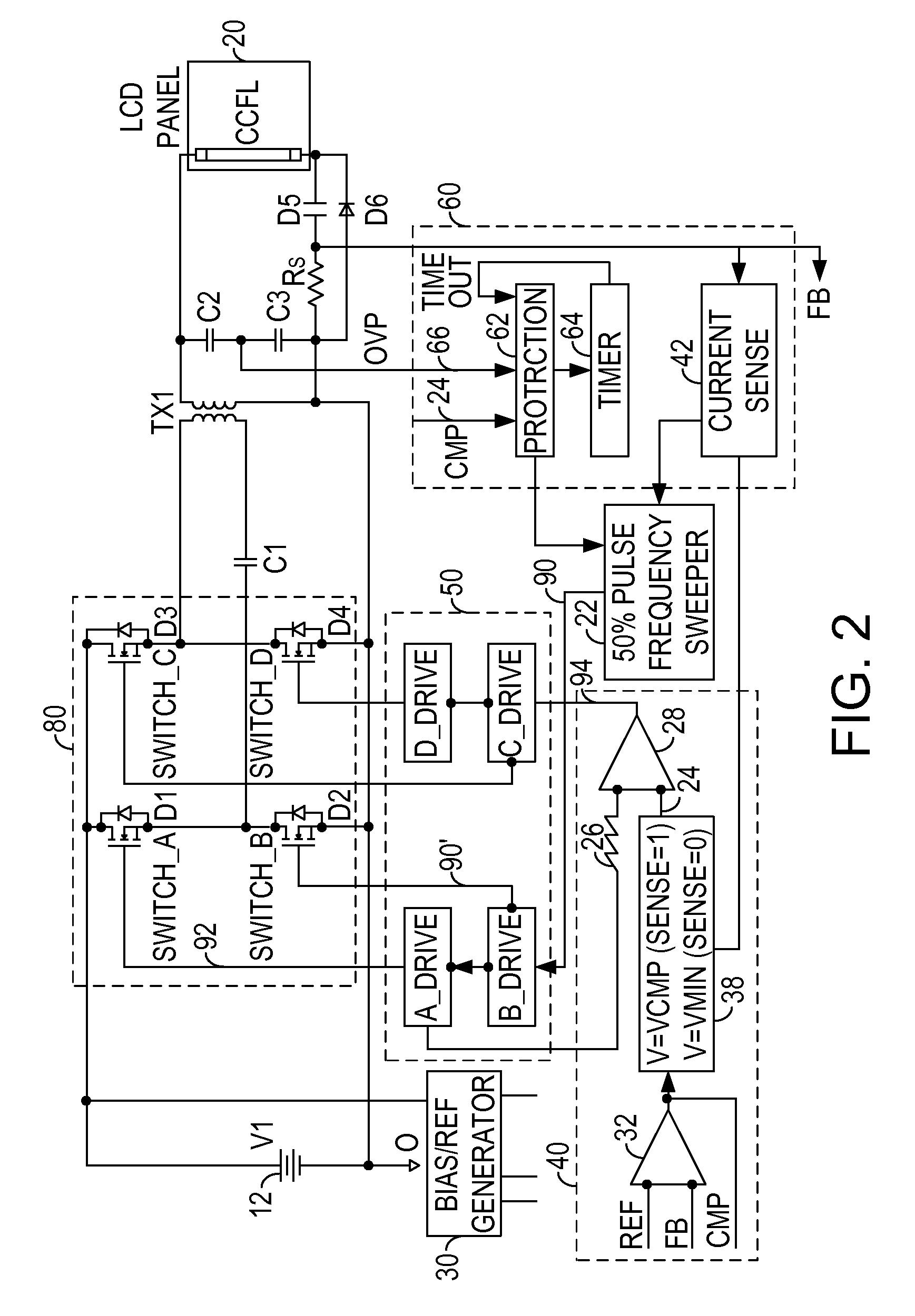ccfl inverter circuit