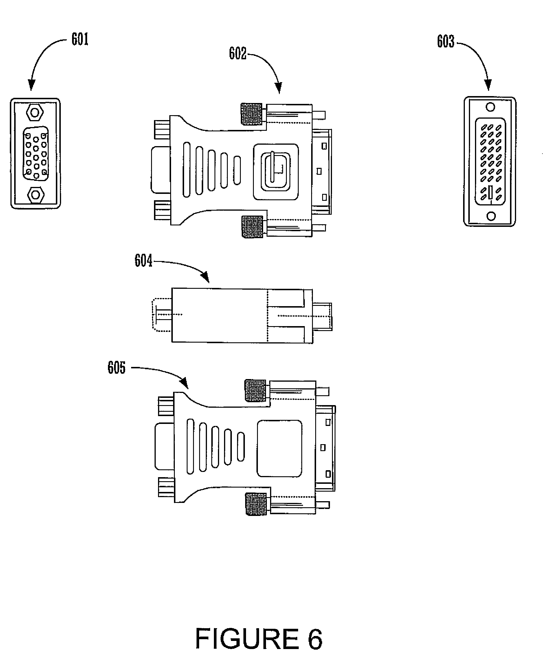 dvi to vga adapter schematic