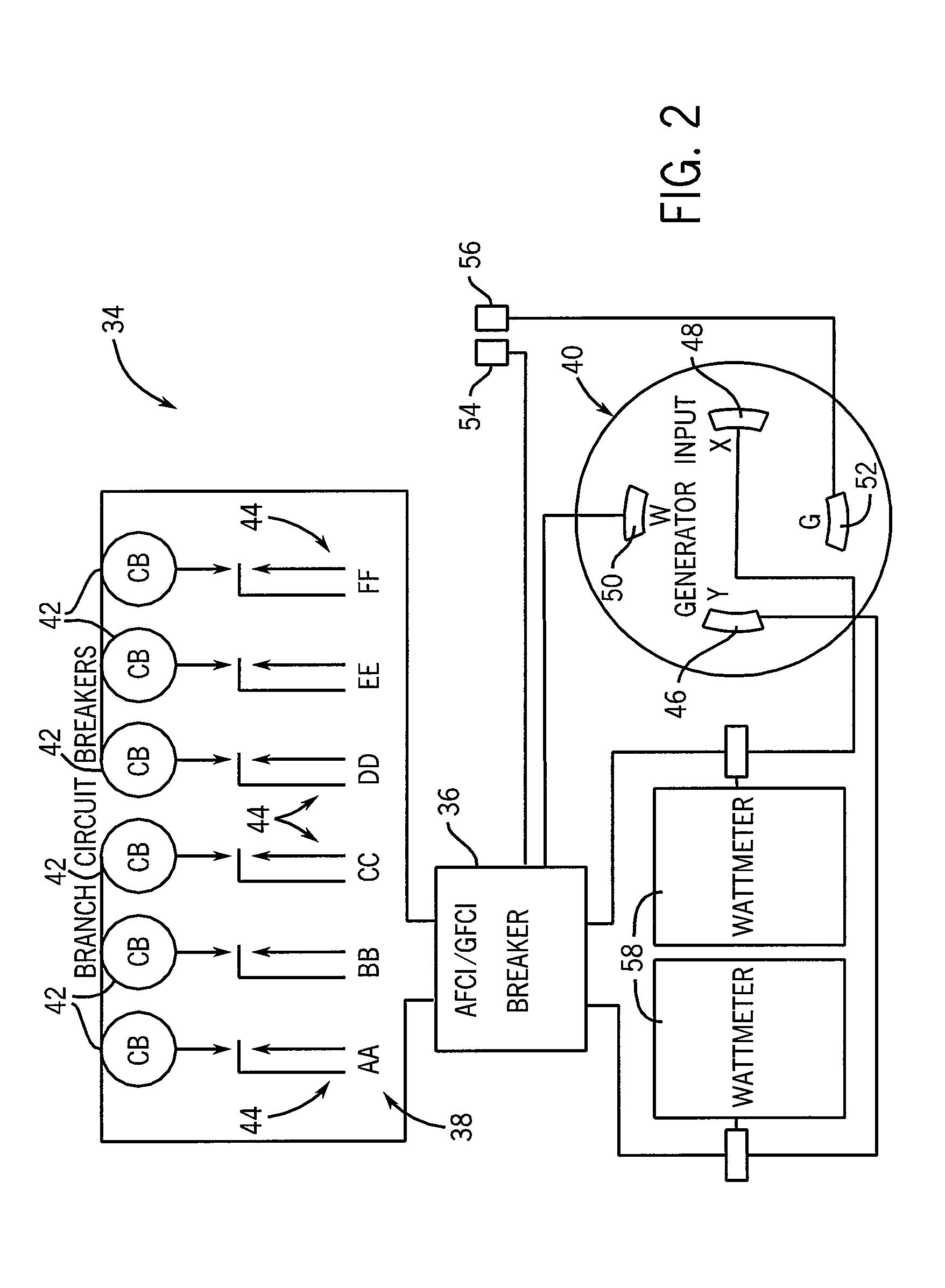 fault circuit interrupt gfci circuit breaker branch circuit and