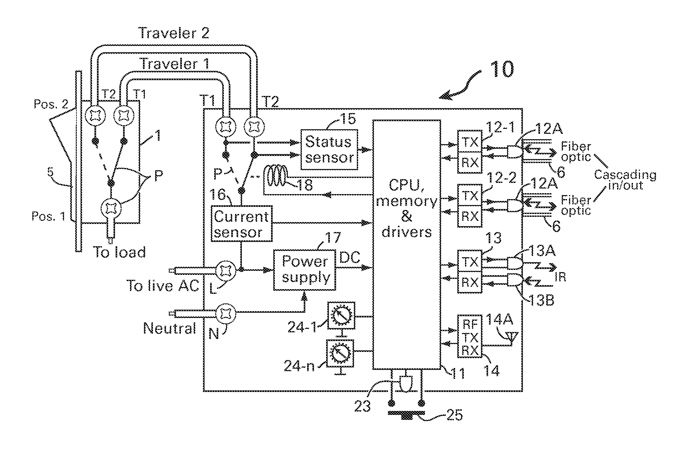 on off switch diagram for electric steps
