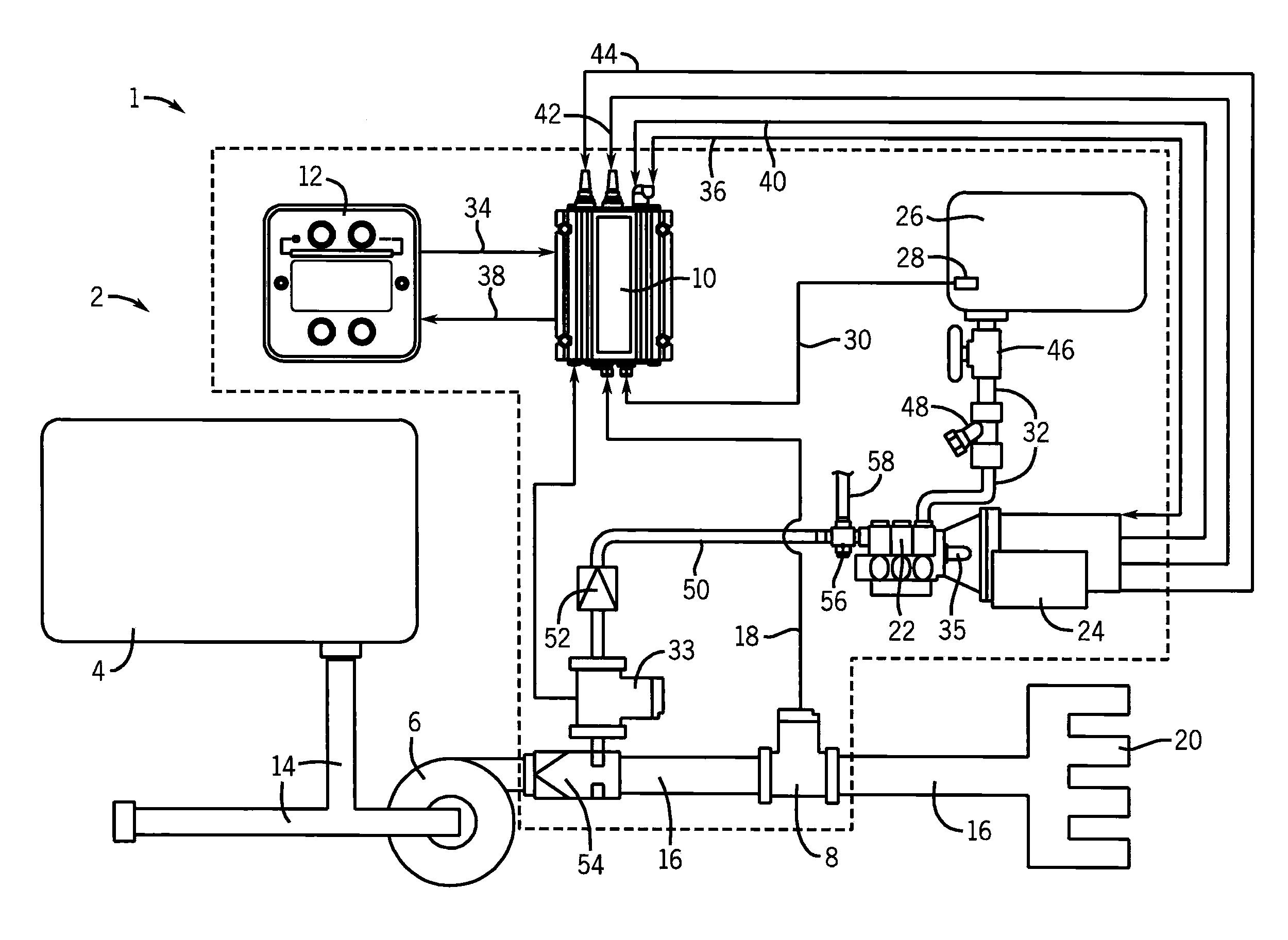 this is a servo system controller circuit this circuit is used to
