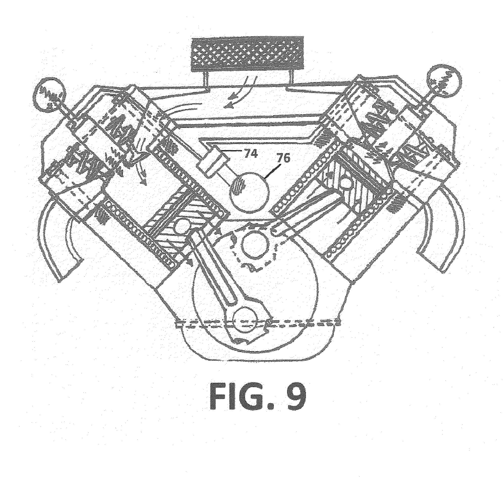 magnet car Motor diagram