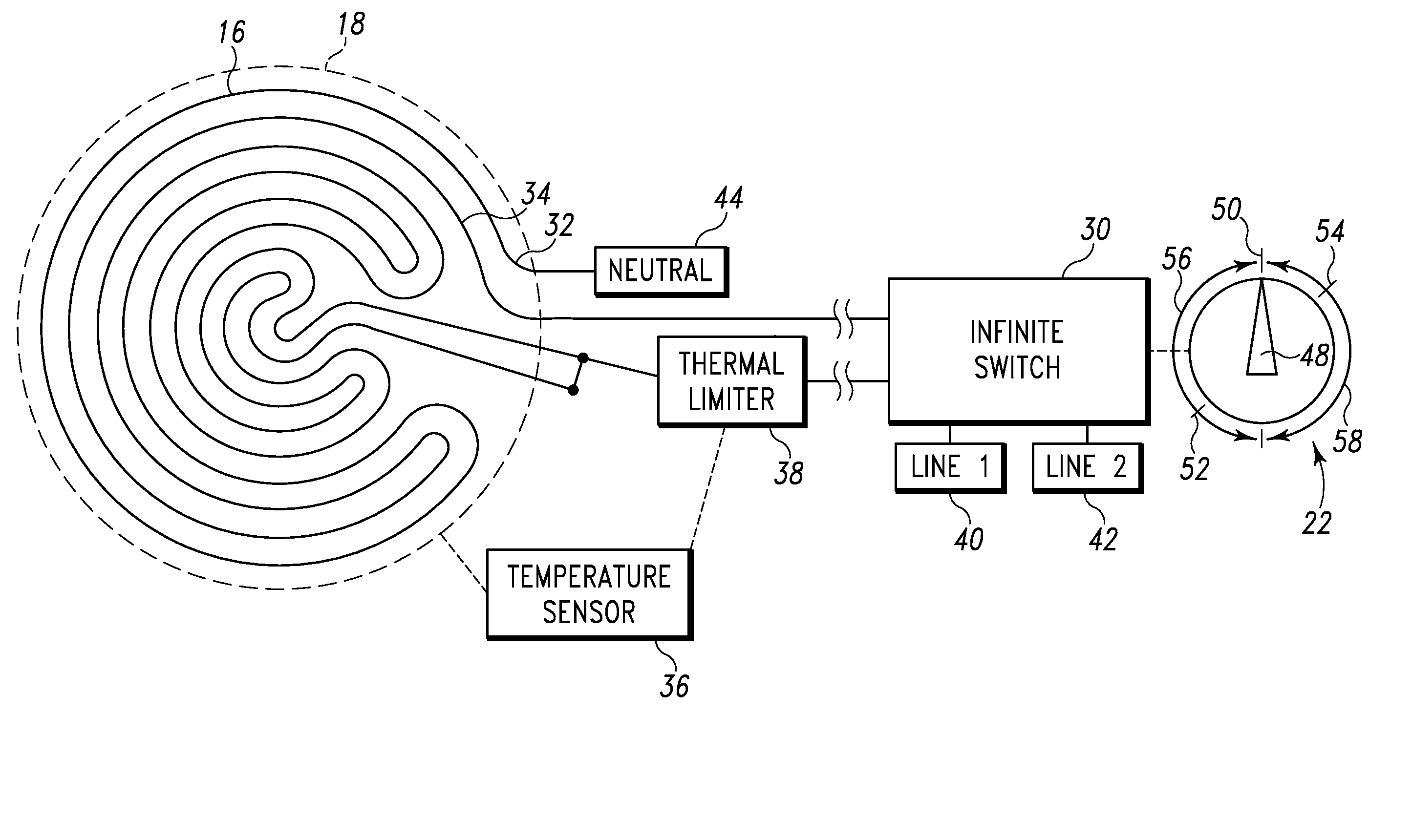 robertshaw infinite switch wiring diagram