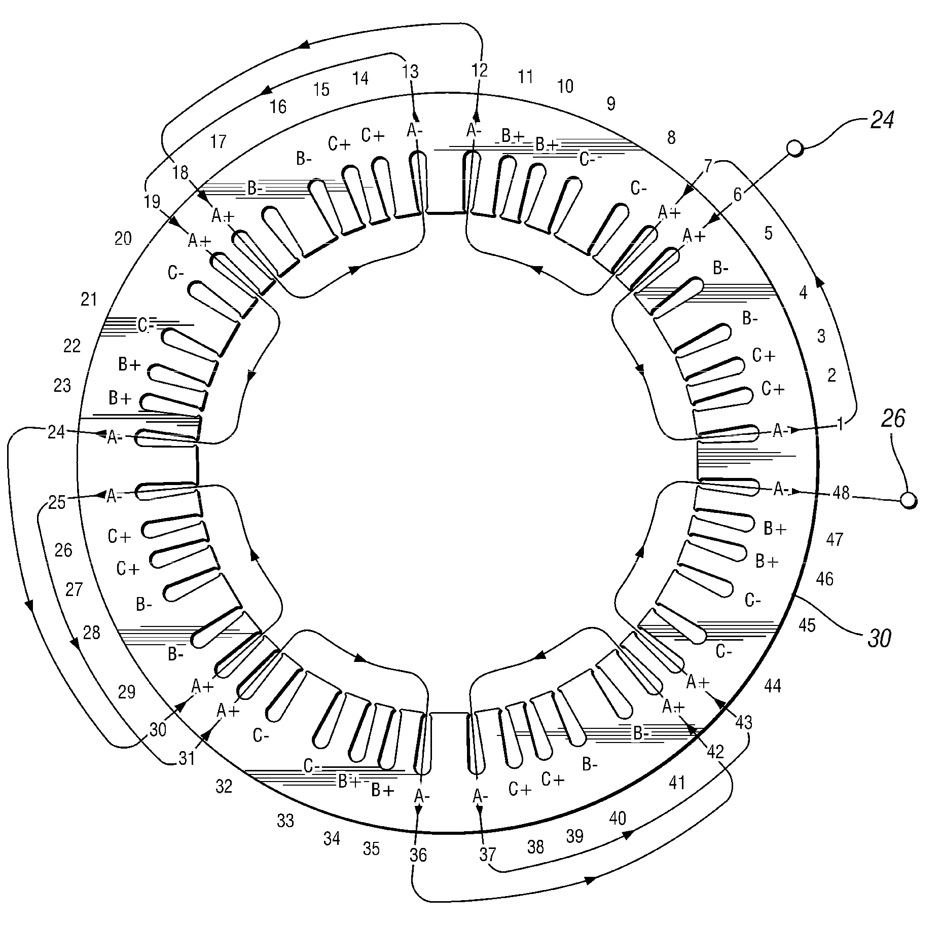 11 tooth stator wiring diagram