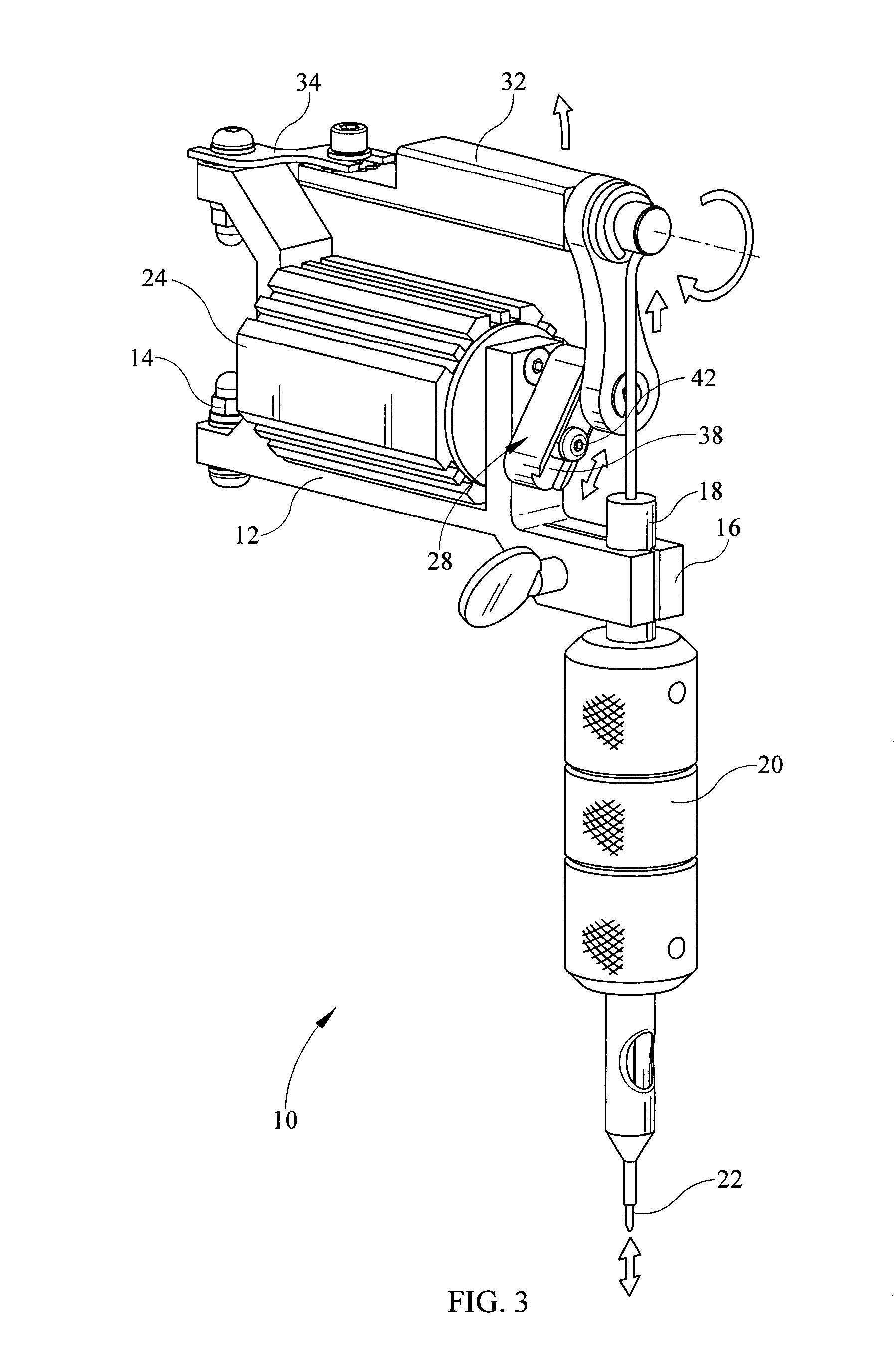 rotary tattoo machine diagram rotary tattoo machine diagram