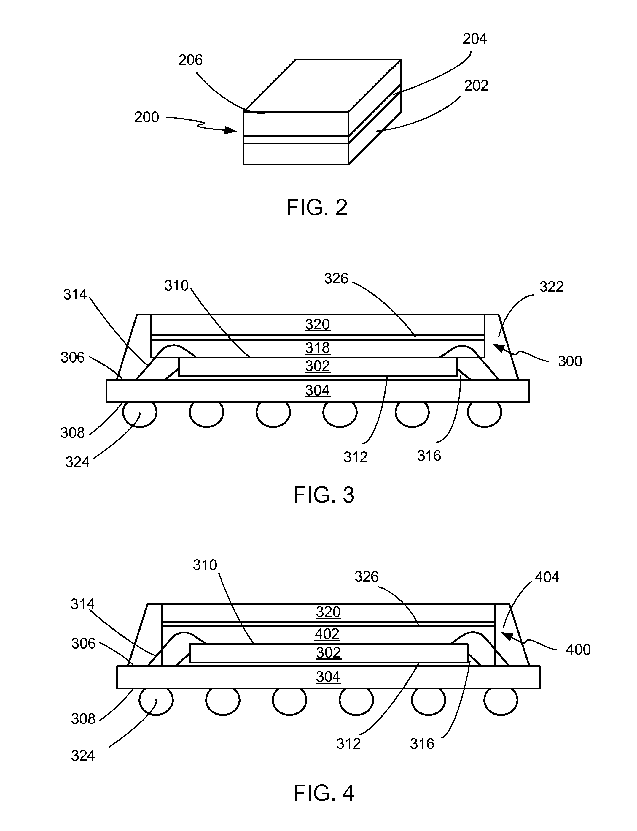 smallscale integrated circuit die with bond wires attached in the