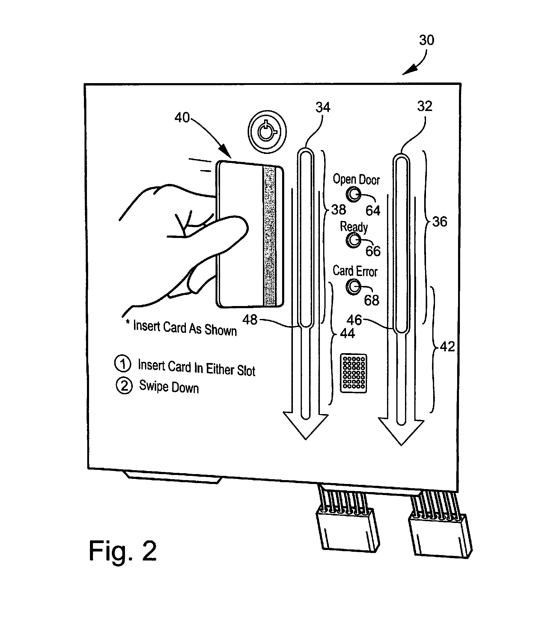 magnetic card wiring diagram