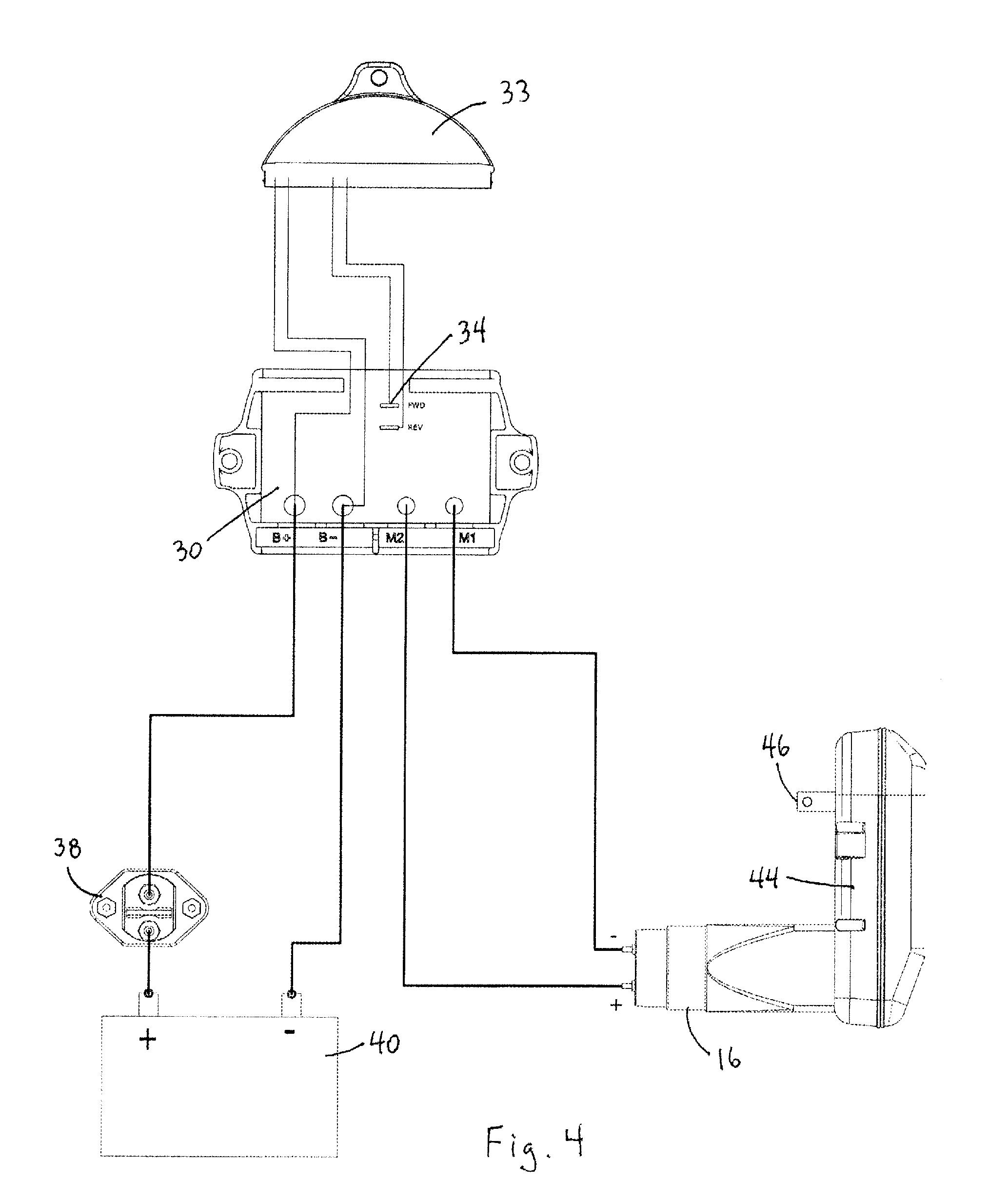 tarp gear motor 12 volt wiring diagram