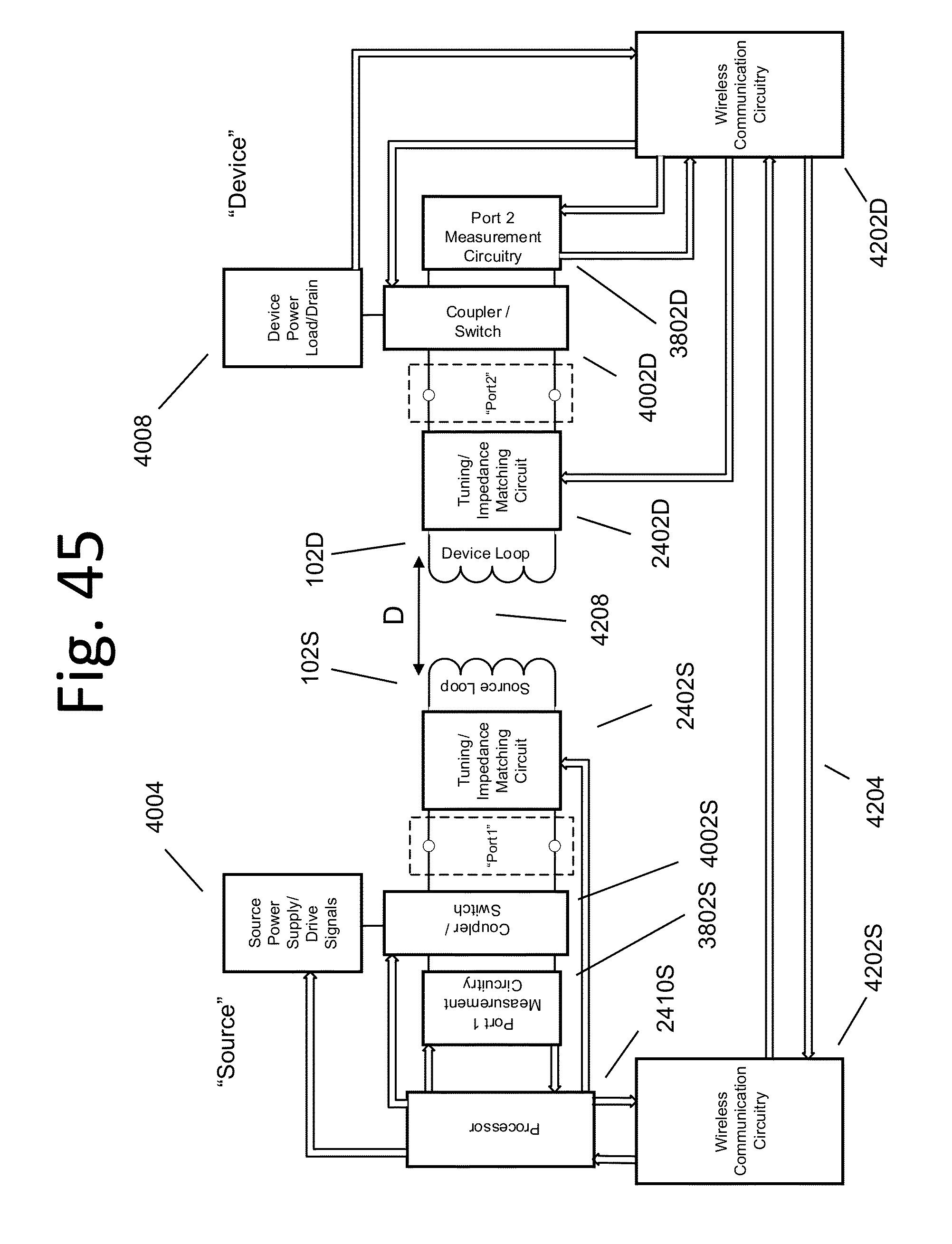 wireless energy transfer circuit