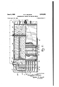 Patent US2510352 - Reverberatory furnace for melting ...