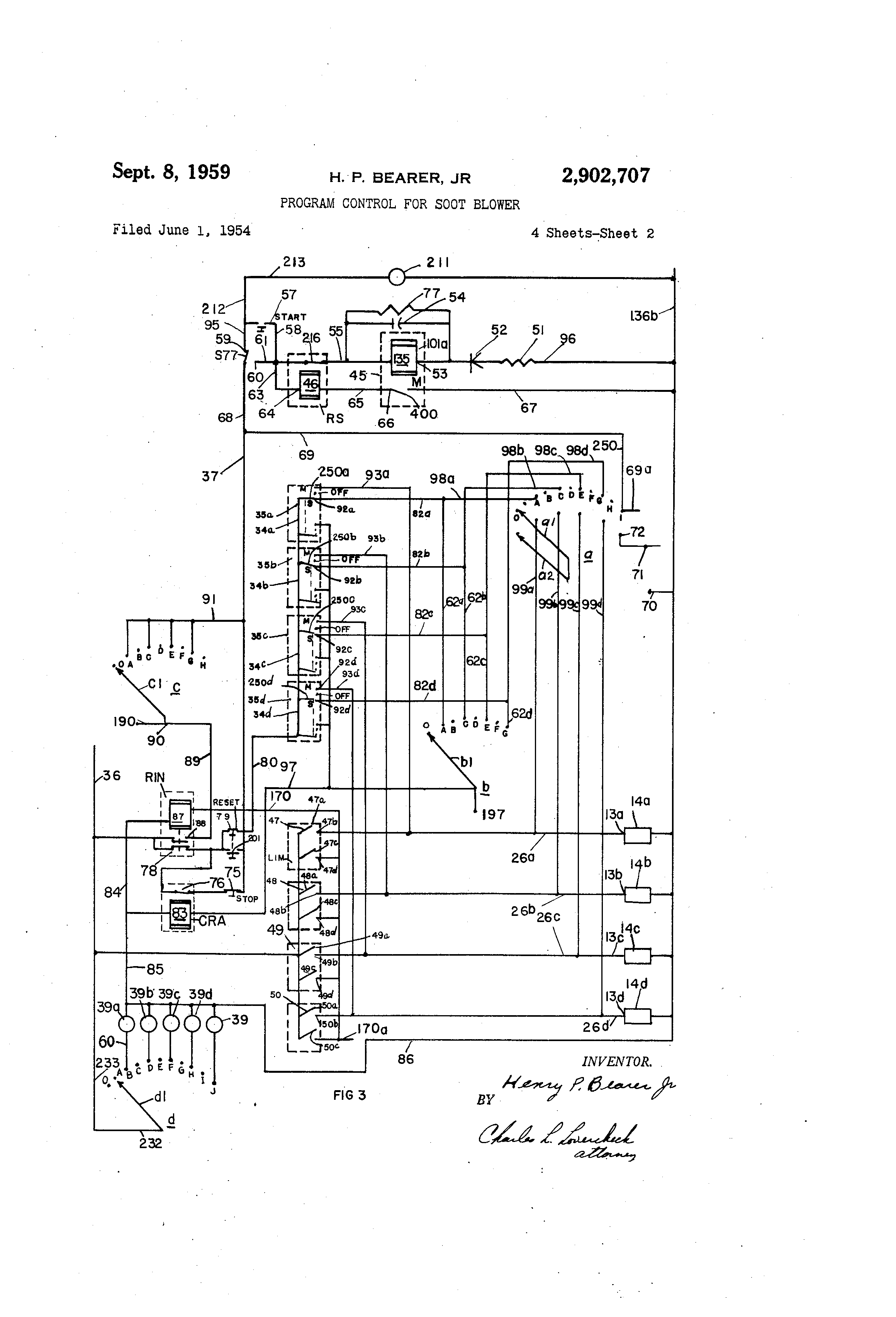 57 chevy fuse diagram