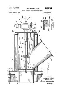 Patent US3556702 - Blast furnace stove burner assembly ...