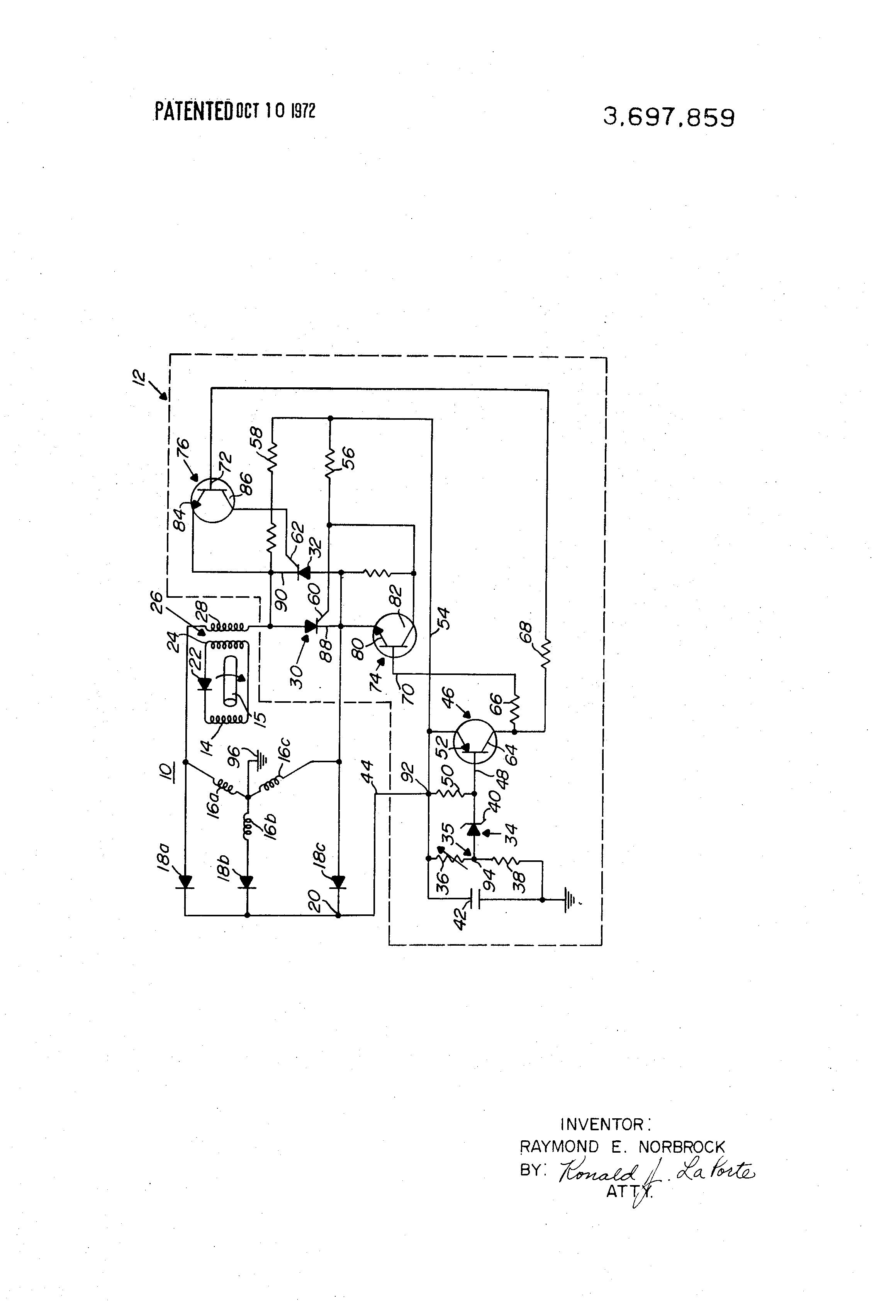 voltage regulator circuit for a brushless alternator google patents