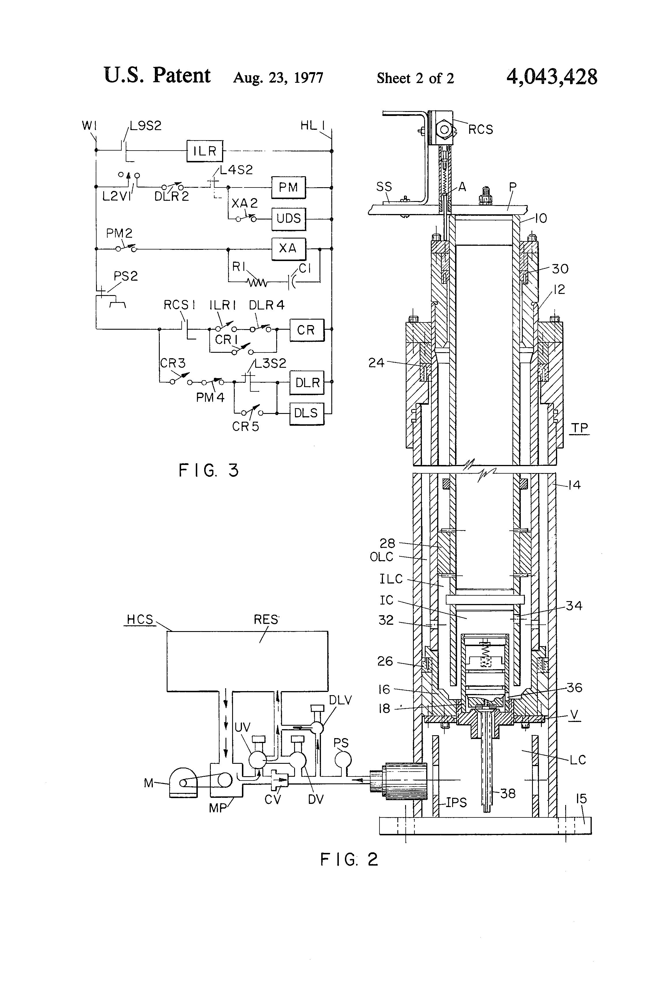 piston elevator schematic
