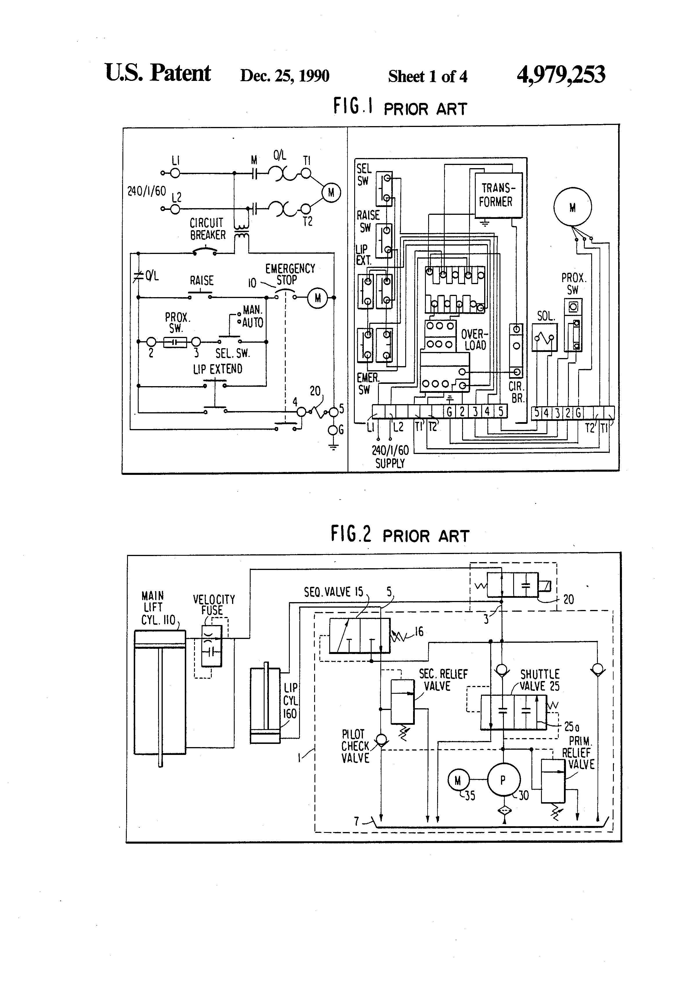 Wiring An Schematic Diagram Auto Electrical Dryer Motor 115v X603 Loading Dock Leveler Boat Levelers