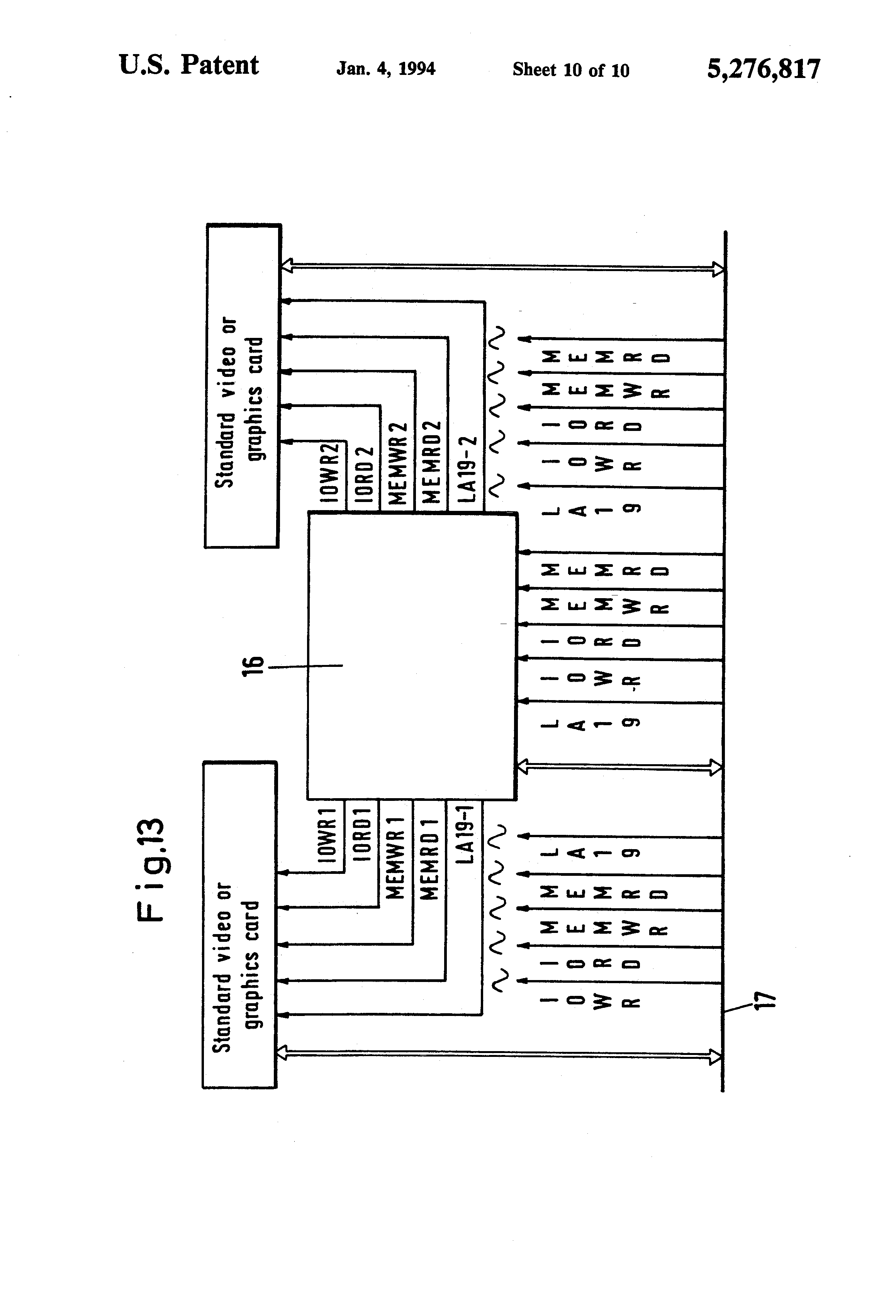 ribbon cable circuit board connector