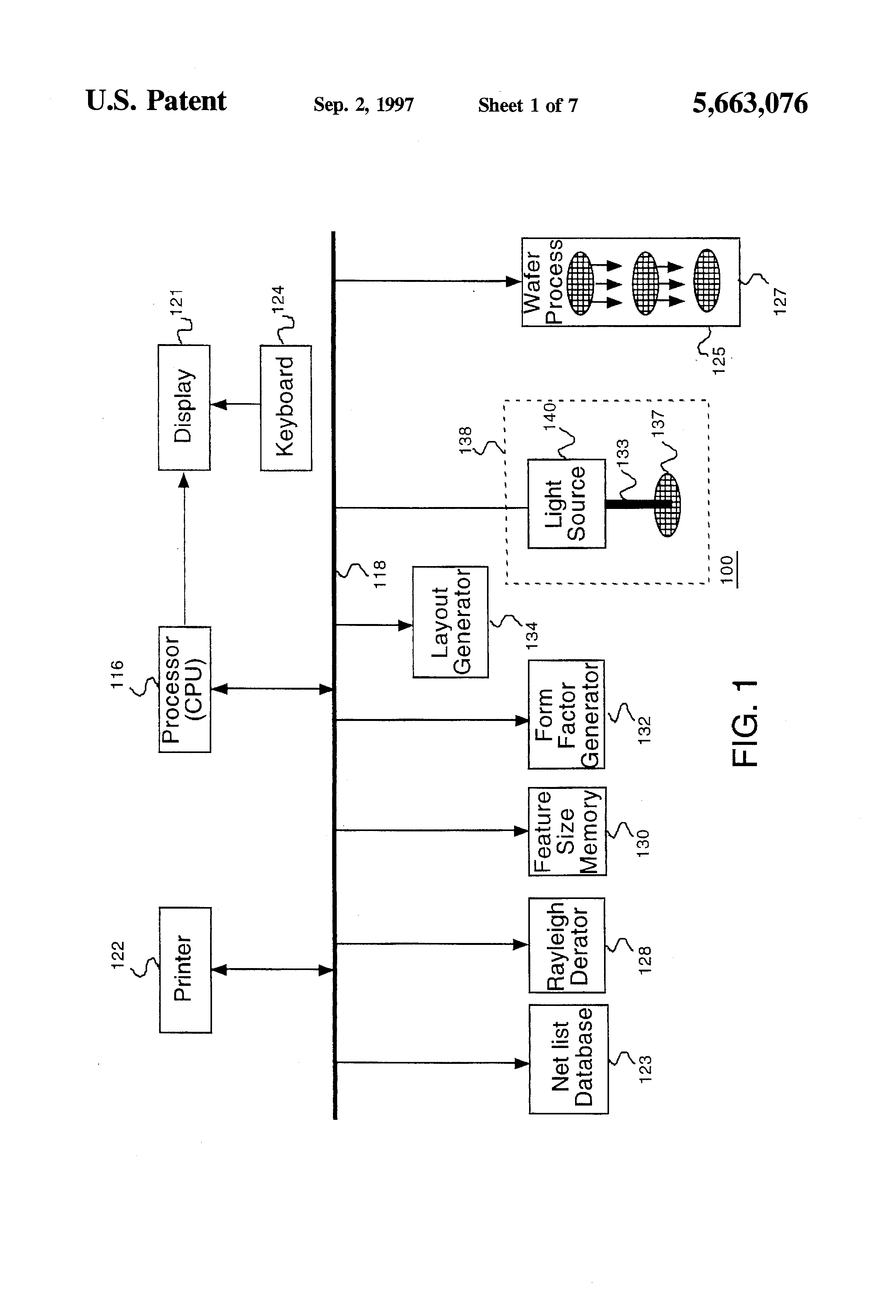production of integrated circuits