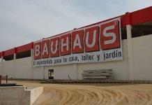 Imagen de las obras del centro Bauhaus en Paterna