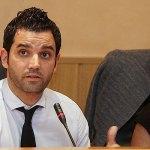 El alcalde, Juan Antonio Sagredo, durante un pleno