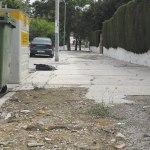 Está prevista la mejora de aceras en La Canyada