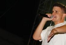 Arkano durante su actuación en Paterna