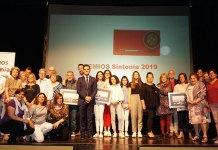 Galardonados en los Premios Sintonía 2019