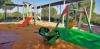 Uno de los parques infantiles ubicados en Paterna