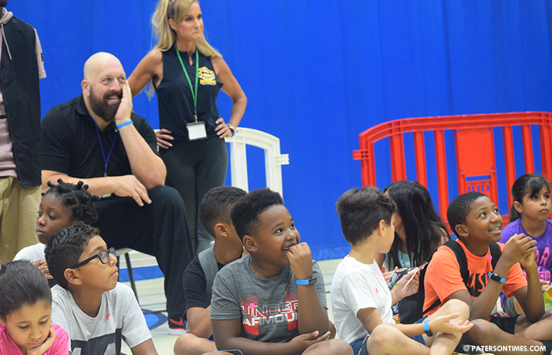 WWE stars visit Paterson youngsters at Boys and Girls Club
