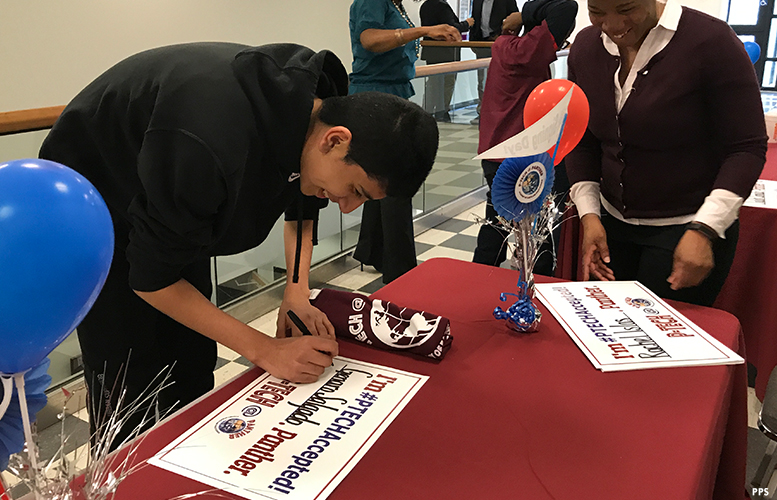 60 eighth graders sign up for Paterson\u0027s new high school to prepare