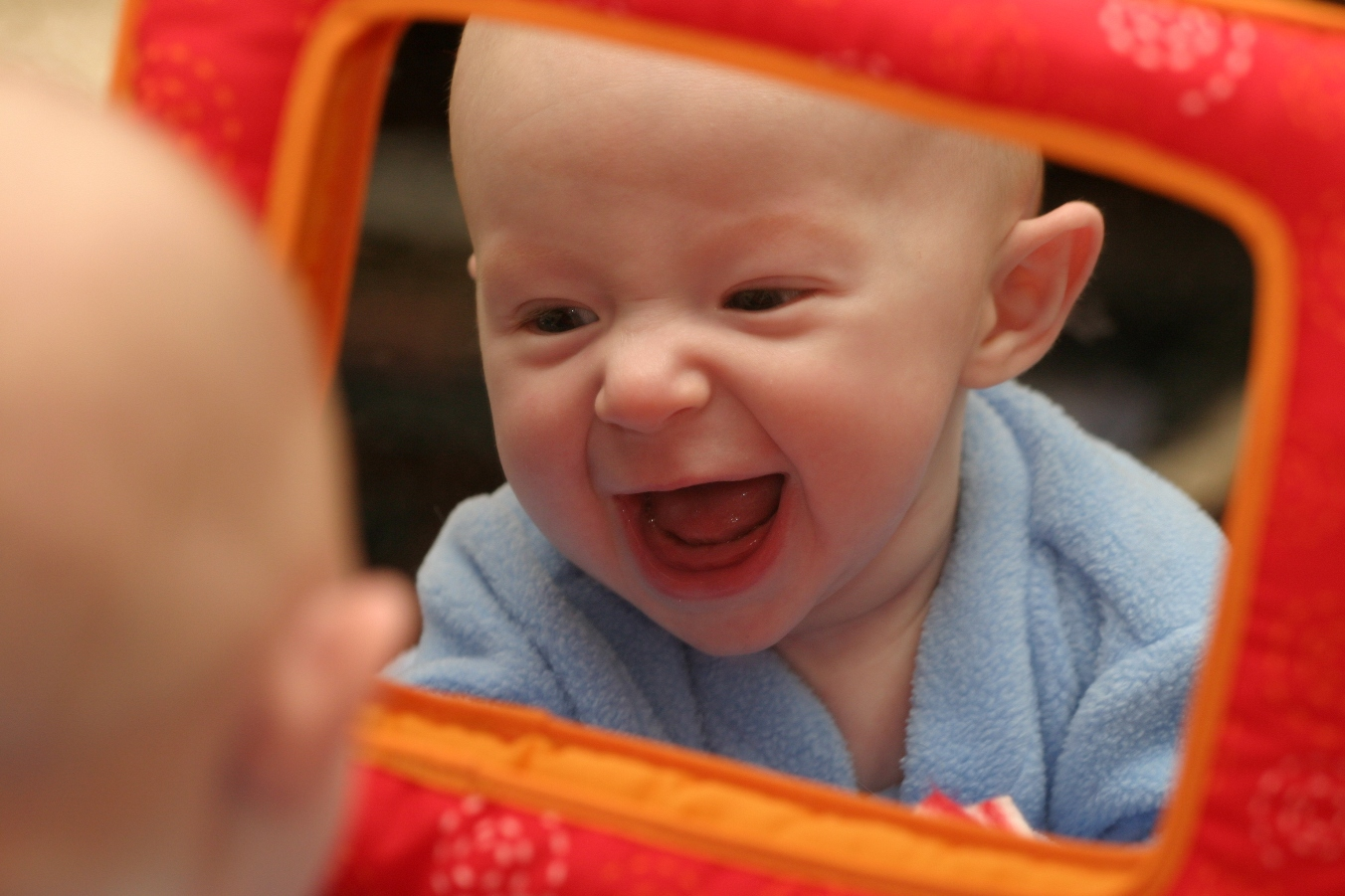 Infant Toddler Mirror Why Are Mirrors Good For Baby Pathways Org