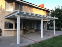 Alumawood Lattice Patio Cover Kit - Patiocovered.com