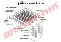 Aluminum Patio Parts | Outdoor Goods