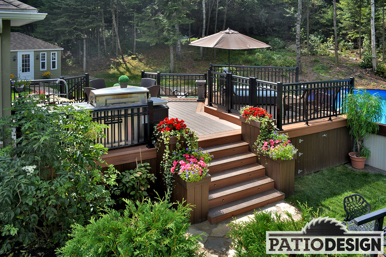 Terrasse Design Patio Design Construction And Design De Patios Et