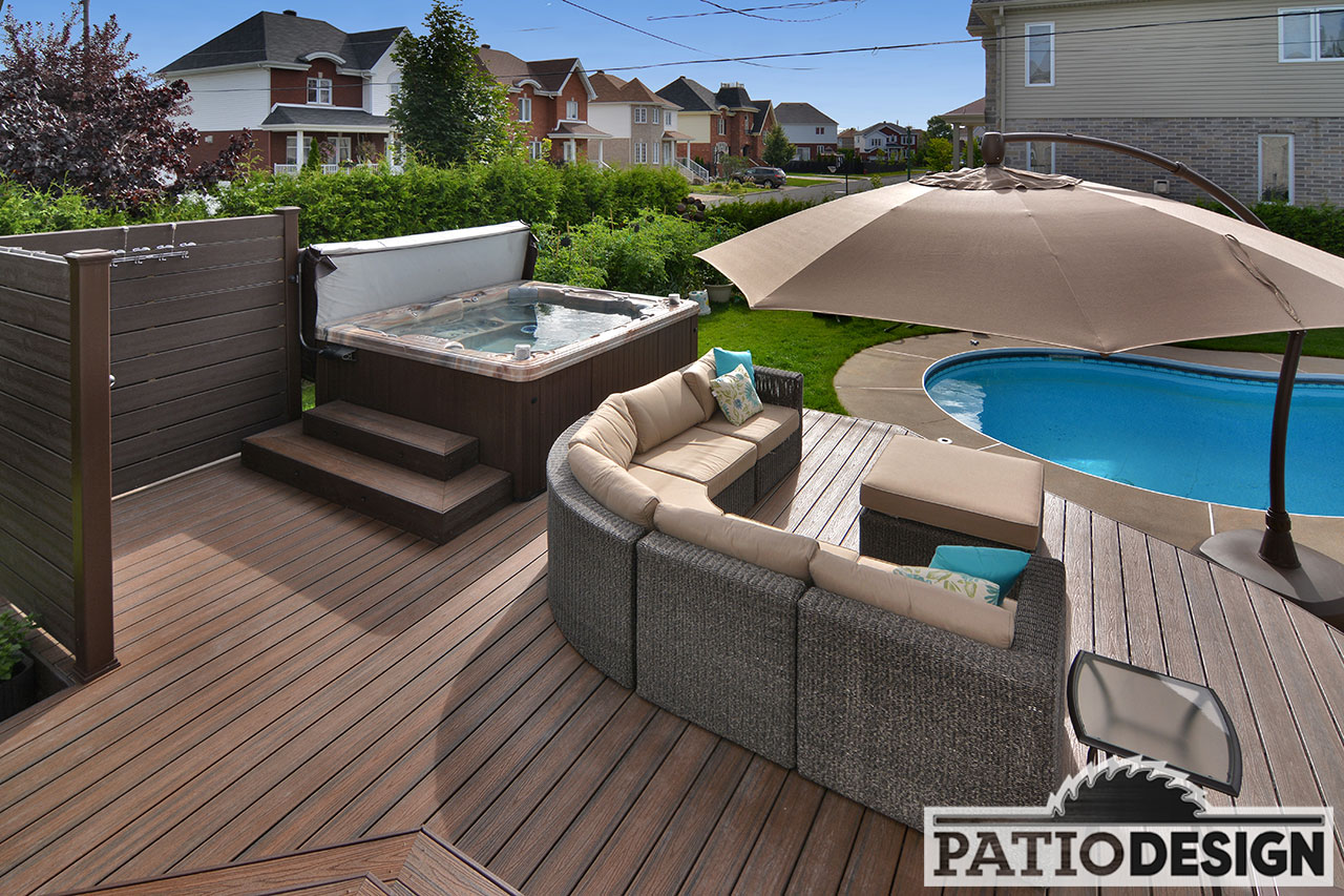 Design Terrasse Patio Design Construction And Design De Patios Et