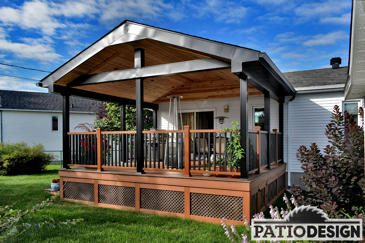 Toit Terrasse Quebec Patio Design Construction And Design De Patios Et