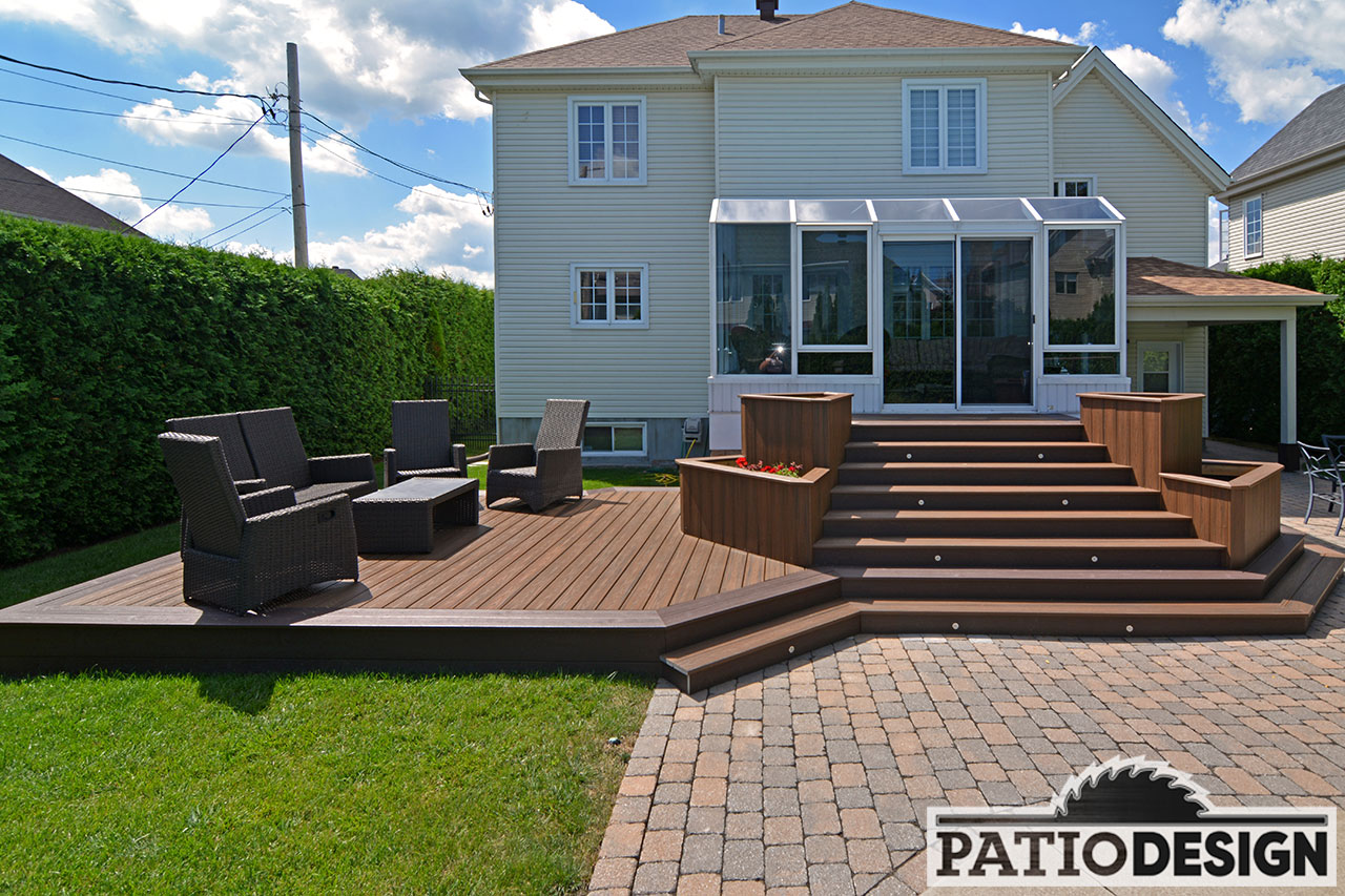 Terrasse Patio Patio Design Construction And Design De Patios Et