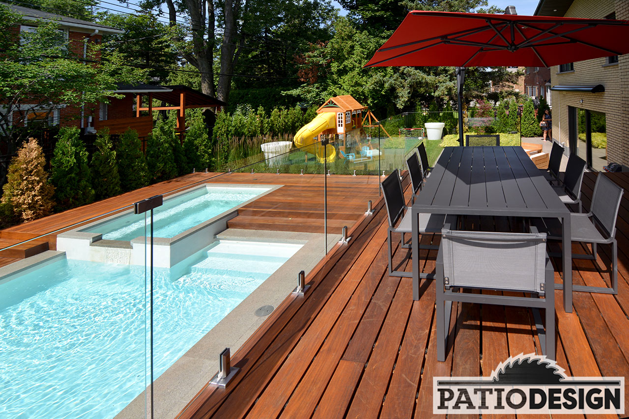 Amenagement Exterieur Repentigny Cèdre Rouge De L 39ouest Patio Design Inc