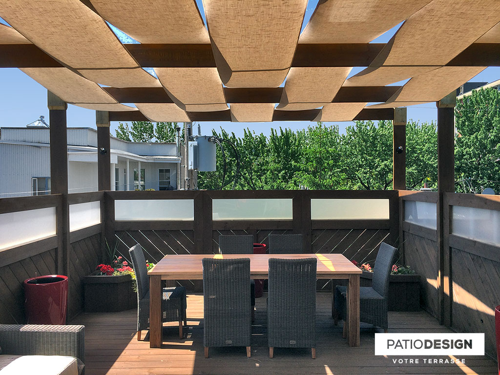 Toit Terrasse Fibre De Verre Patio Design Construction Design De Patios Sur Le Toit Toit