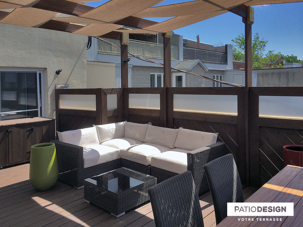 Patio Design Construction Design De Patios Sur Le Toit Toit Terrasses