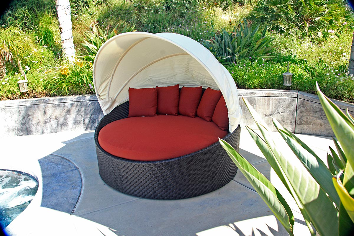 Using Outdoor Furniture Indoors 10 Outdoor Daybeds Youll Want To Use Indoors