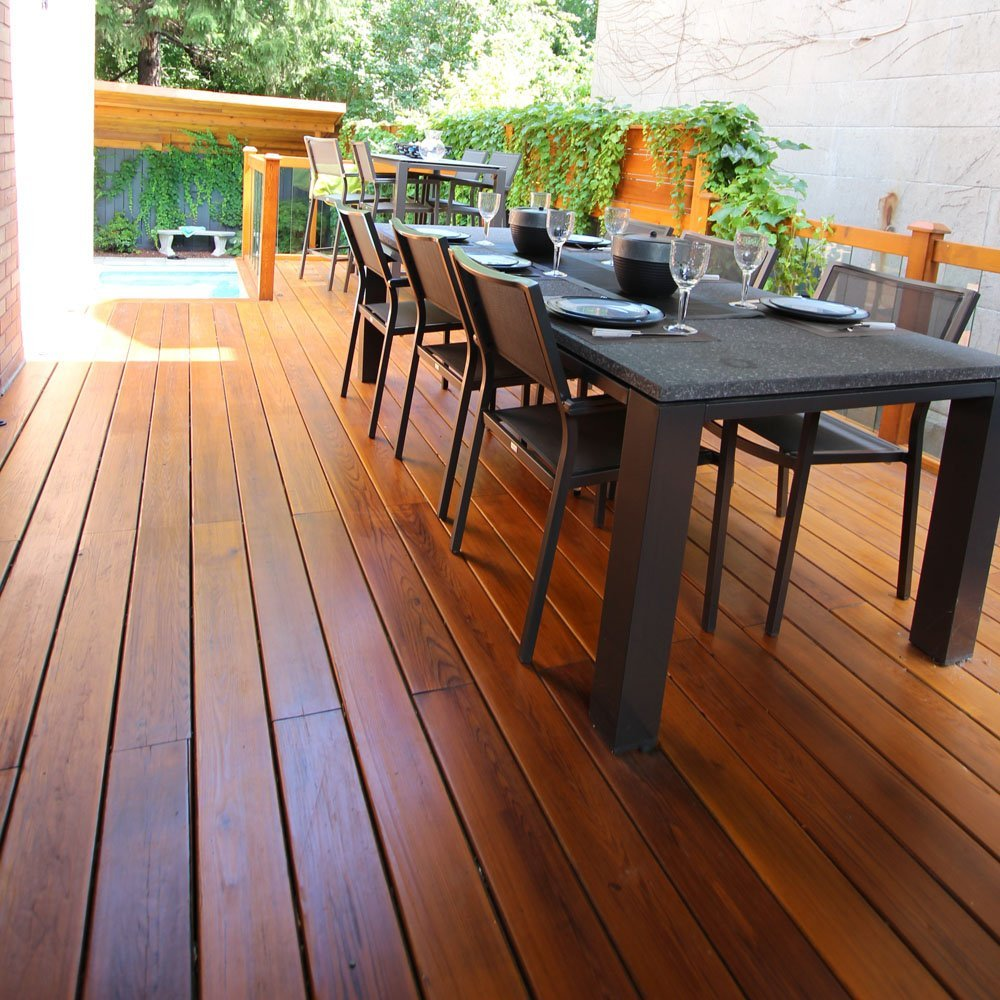 Terrasse Red Cedar Red Cedar Patio Why Build A Patio Out Of Cedar Wood