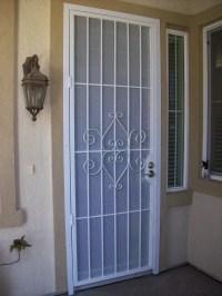 Security Screen Doors: Patio Security Door