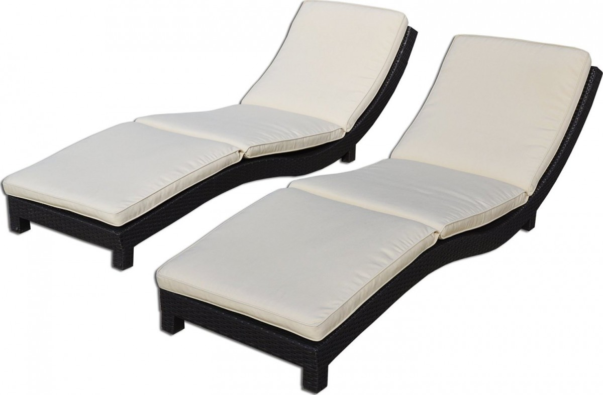 Chaise Lounge Chair Modern Coast Modern Living Outdoor Chaise Lounge Chairs W Cushions