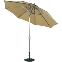 9' Round Deluxe Auto Tilt Patio Umbrella