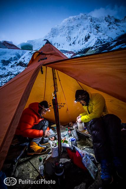 Ueli Steck Annapurna camp